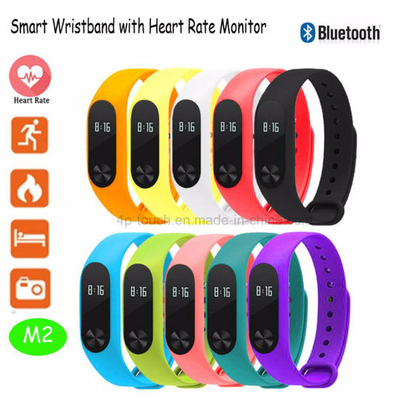 Mi Band Smart Wristband Bracelet with Heart Rate Monitor (M2)