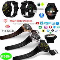 Support Download Apps 3G/WiFi Smart Watch Phone K98H