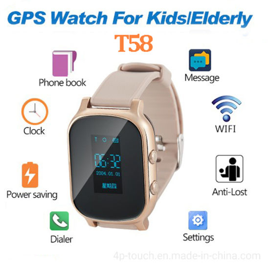 GPS Tracking Tracking Device for Elderly People T58