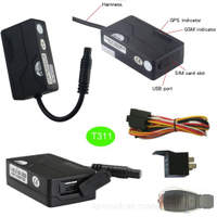Micro Vehicle GPS Tracker with Free Web Platform & APP T311
