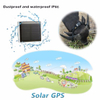 Solar Power Charging pets GPS Tracker with large battery capacity (V26C)