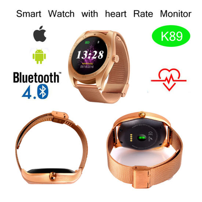 Smart Watch with Heart Rate Monitor and Bluetooth (K89)