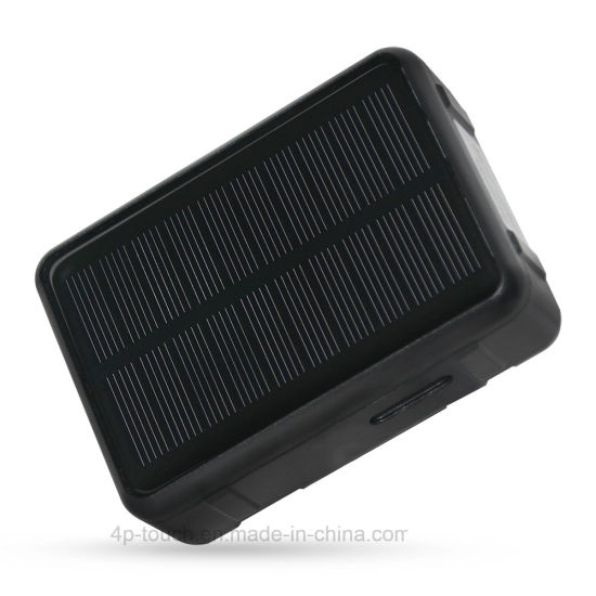 Waterproof Pet Solar GPS Tracker with 9000mAh Battery (V34)