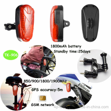 GPS Tracker for Bicycle/Motorcycle with Sos and Voice Monitoring (T-906)