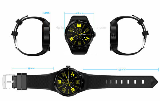 Newest 3G Fashionable Smart Watch with Heart Rate Monitor K98h