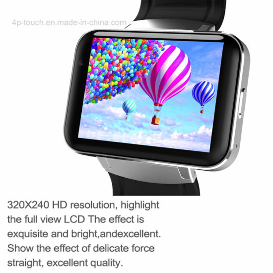 Support Download Apps 3G/GPS Smart Watch with Camera DM98