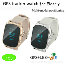 Adult GPS Tracking Watch with multiple accurate Position T58