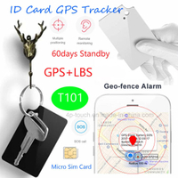 Hot Selling Student ID Card GPS Tracker with SOS T101