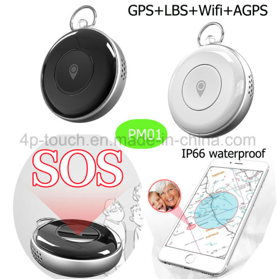 Waterproof Sos Button GPS Personal Tracker with SIM Card Slot PM02