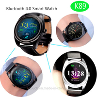 Newest Bluetooth Smart Watch with Full View Round Screen (K89)