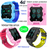 New Design 4G Waterproof Smart GPS Watch with Video Call D48