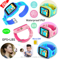 New IP67 Waterproof GPS Watch Tracker with Camera D27s