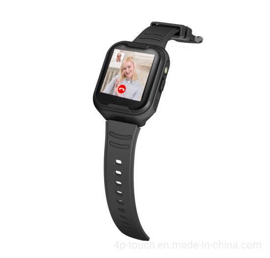 4G Elderly GPS Tracker watch with Heart Rate monitor D46