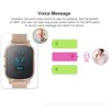 OLED screen Senior People GPS Tracker watch with multiple accurate positioning T58