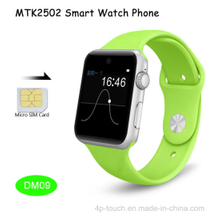 Mtk2502 System Smart Watch Phone with SIM Card Slot (DM09)