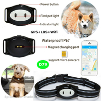 Hot Selling Fashion Pet GPS Tracker with multiple accurate positioning D79