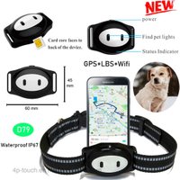 2G Waterproof Mini Pet GPS Tracker with multiple accurate positioning D79