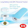4500mAh long working hours GPS Tracker with multiple accurate positioning (V20)