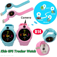 Fashion Kids GPS Watch Accuracy Tracker with Flashlight&Camera D14