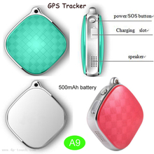 Mini GPS Tracker Key Pendant with multiple accurate positioning(A9)