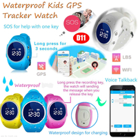 Baby Security Automotive GPS Tracker Watch Phone with Geo-Fence D11