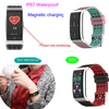 ECG PPG Heart Rate Blood Pressure Monitor Smart Health Tracker Band E08