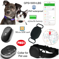 Pets GPRS GPS Tracker Locator with Google Map Location Pm01