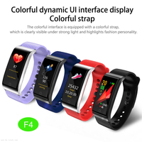 IP67 Waterproof Smart Bracelet Fitness Tracker with Heart Rate&Blood Pressure F4