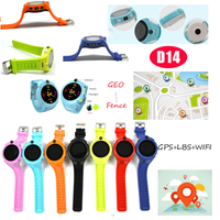 GPS Watch Tracker with Sos Button and Take off Alarm (D14)