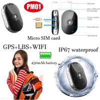 Mini Key Pendent GPS Tracker with multiple accurate Position (PM01)