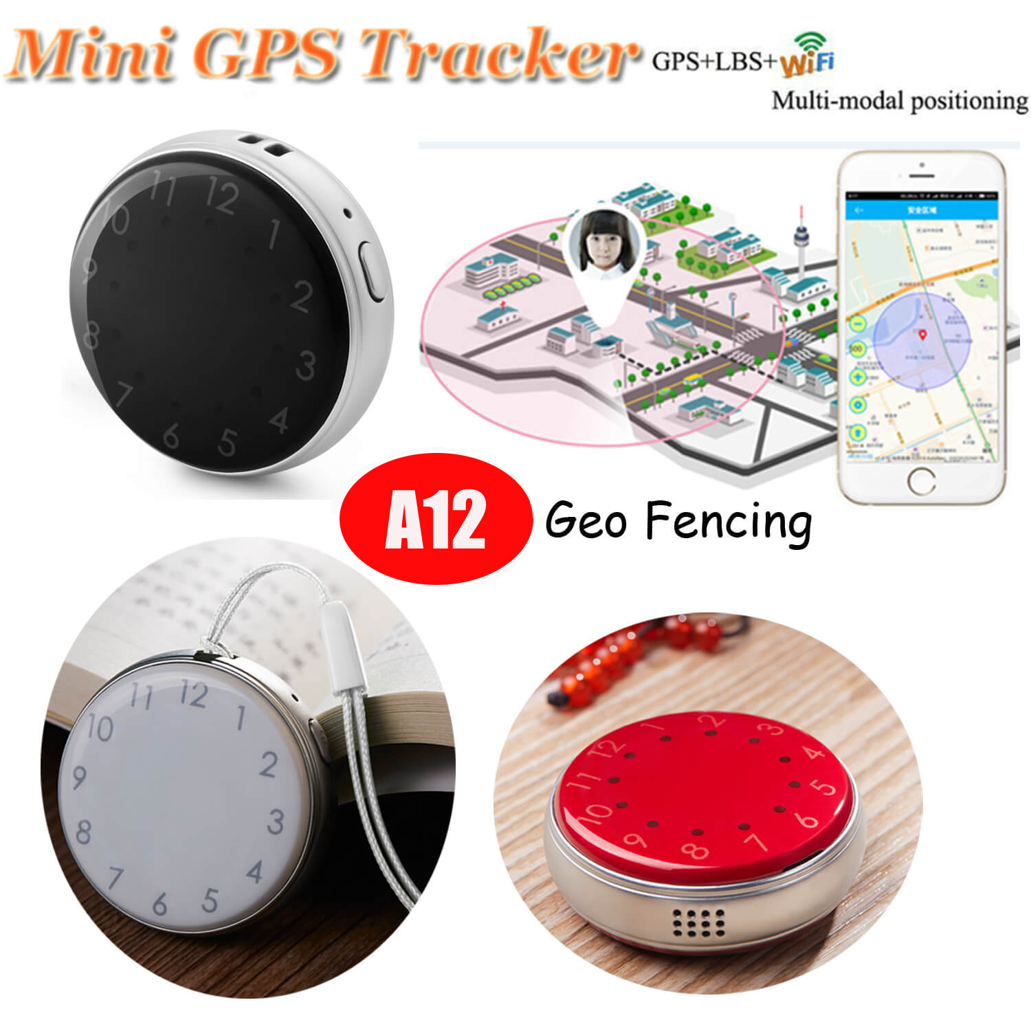 2018 Hot Selling GPS Tracker with 2 Way Communication (A12)