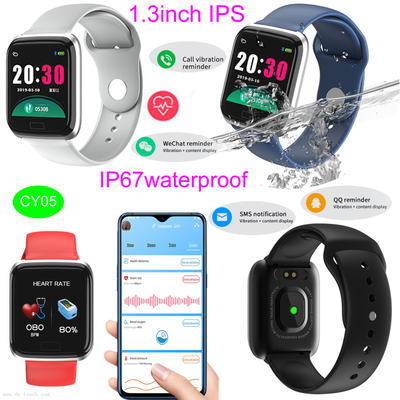 Hot Selling 1.3inch IPS Bluetooth Smart Bracelet with Heart Rate Monitoring Cy05