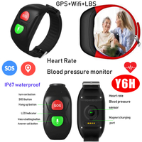 2019 New Waterproof GPS Smart Bracelet with Blood Pressure monitor Y6H