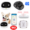 2019 Waterproof Pet GPS Tracker with 4G Network V43