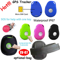 Hot Selling Quality Mini GPS Tracker with IP66 Waterproof & Sos (EV07)