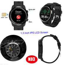 4G Network GPS Positioning Wristwatch with Blood Pressure Monitor K03