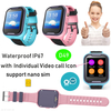 4G Multi-languages Waterproof IP67 Security Kids GPS Watch with Video call D49