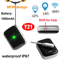 Waterproof GPS Personal Tracker with SIM Card Slot Y21