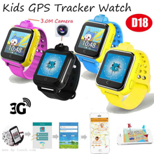3G/WCDMA Kids GPS Tracker Watch Phone with Multi-Function (D18)