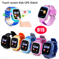 Kids Sos GPS Tracking Smart Watch with Two Way Communication Call D15