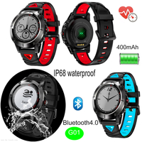 Multiple Sport Mode Waterproof Adults GPS Smartwatch with Heart rate monitor G01