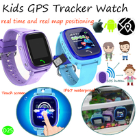 Fashionable Designed Kids GPS Tracker Watch Device with History Route D25