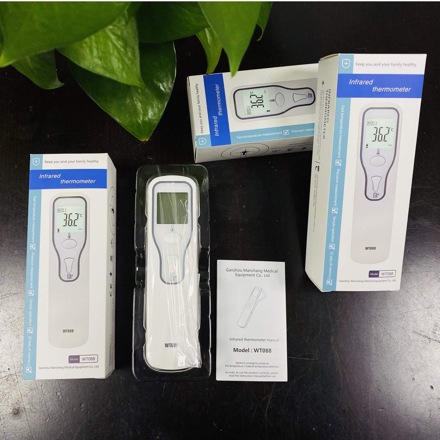 2020 New Thermometer Body Infrared Gun for Fever Digital Medical Forehead Temperature Monitor