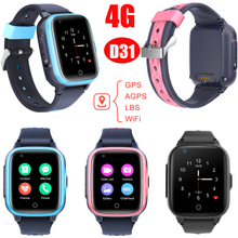 4G IP67 Waterproof GPS Watch Tracker with Global Video Call D31