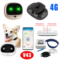 IP67 Waterproof Mini Fashionable Pet GPS Tracker Locator V43
