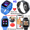 4G LTE Universal Senior Smart Watch GPS Tracker with Video Call, Heart Rate, Blood Pressure SpO2