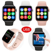 1.54 Inch High Quality Colorful Touch Screen U68 Smart Watch with Bt Call